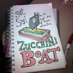 Holiday Recipes: Zucchini Boat