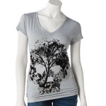 Show and Tell: Nature Skull Tee at Kohl's