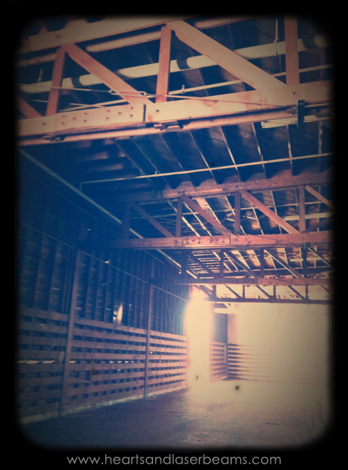 cool old warehouse interior at crafted at the port of los angeles warehouse open house