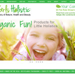 Responsive Web Design Sample: 3 Girls Holistic